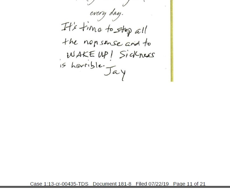 Jay-CIA-sickness-uswgo-brian-d-hill-threatening-greeting-card-justice-for