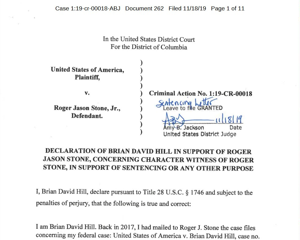 Brian-david-hill-roger-stone-level-in-support-sentencing-uswgo