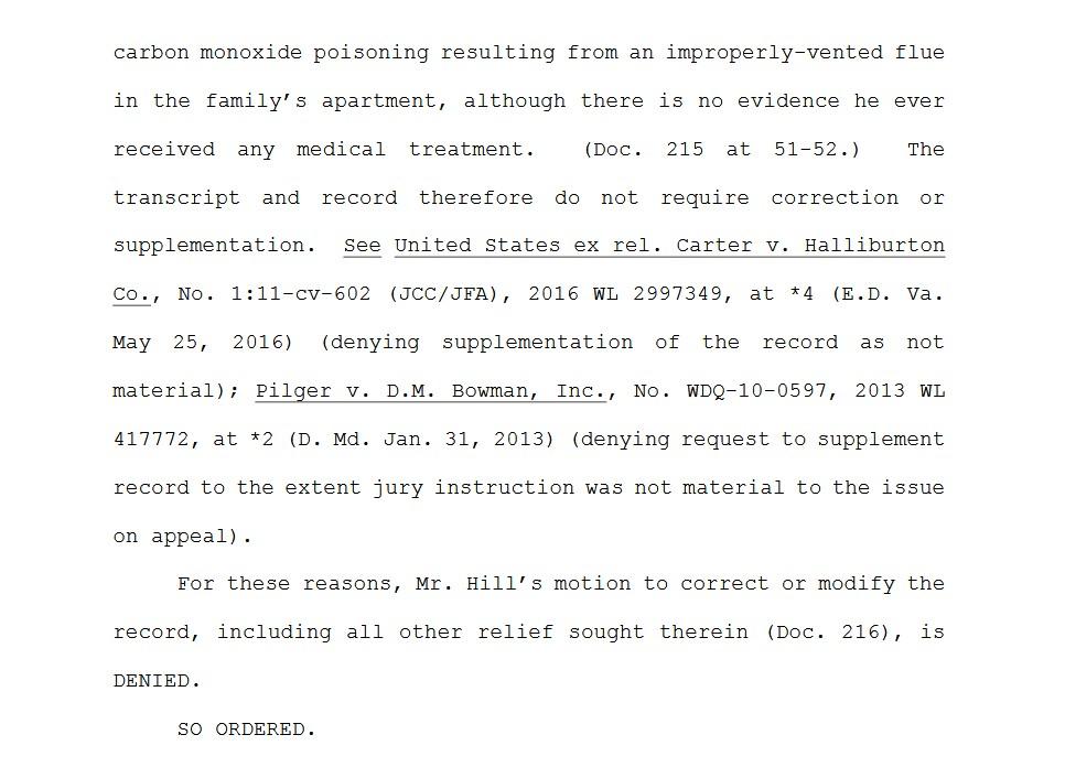 corrupt-federal-judge-thomas-d-schroeder-ordr-transcript-court-reporter-uswgo-justice-brian-hill