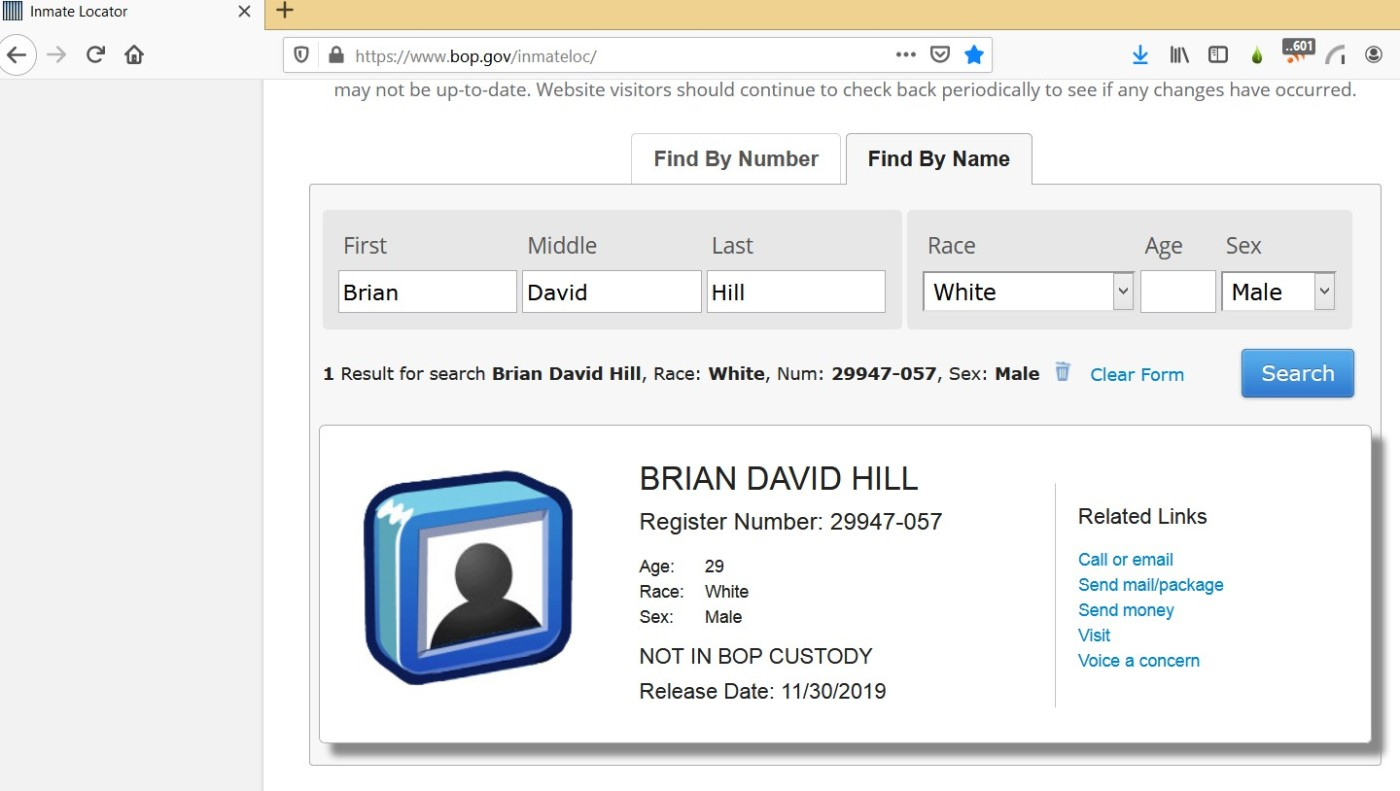 Brian-d-hill-released-bop-prison-custody-justice-for-uswgo