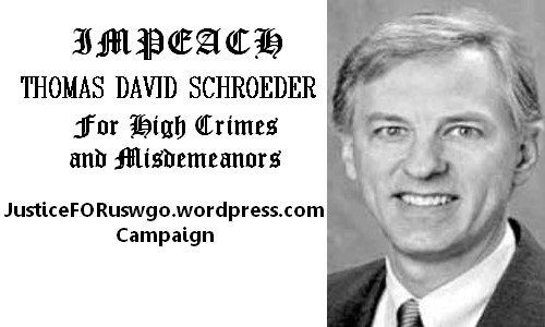 Campaign to impeach Judge Schroeder