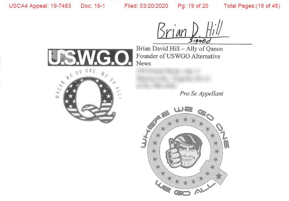 Brian-d-hill-appeal-filing-qanon-wwg1wga-federal-justice-for-uswgo