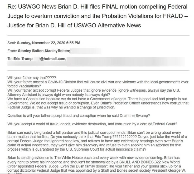 Eric-Trump-real-fake-accept-move-on-email-justice-brian-d-david-hill-uswgo-alternative-news3_redacted