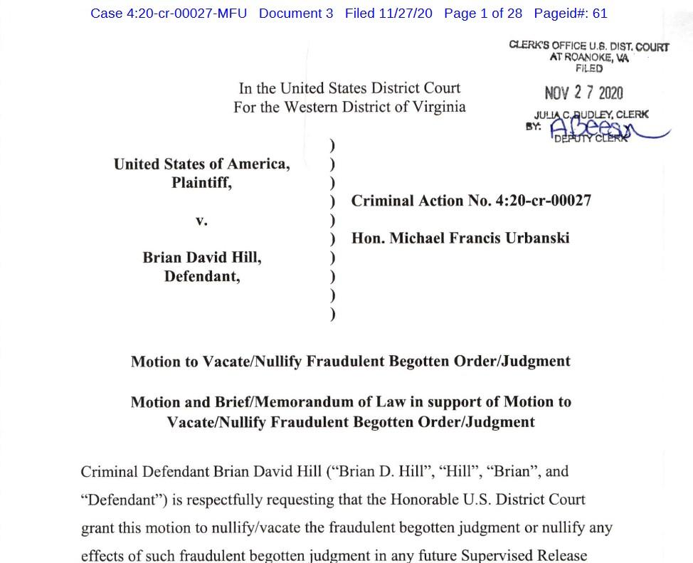 vacate-fraudulent-begotten-judgment-justice-uswgo-brian-d-david-hill-roanoke-virginia-va